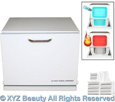 Mini Hot Towel Cabi Warmer UV Sterilizer 12 Hand Towels Beauty Salon Equipment