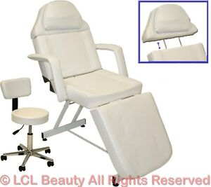 Stationary facial massage table bed chair beauty salon equipment