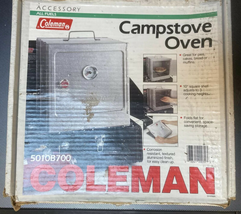 Coleman 5010B700 Camp stove Oven Accessory - Works Well - includes bonus toaster