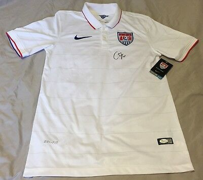 CARLI LLOYD HAND SIGNED AUTHENTIC NIKE USA JERSEY W  JSA COA e2fb04a56