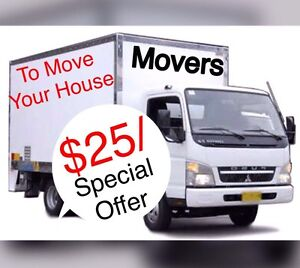★ $25/ ONLY TO MOVE YOUR HOUSE & FURNITURE ** Parramatta Parramatta Area Preview