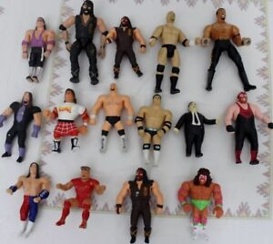 Vintage Wrestling Figues 1980s 1990s WWF WWE WCW
