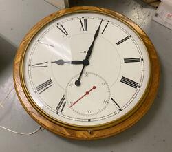 "GIANT MID CENTURY HOWARD MILLER GALLERIE WALL CLOCK 42""Diameter"