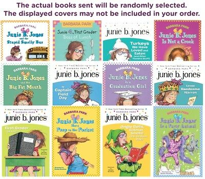 FIVE-PACK BUNDLE/LOT OF JUNIE B JONES - Paperbacks - Barbara Park
