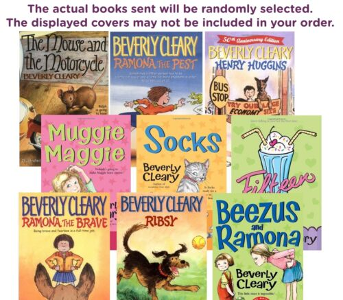 Five-pack Bundle / Lot Of Beverly Cleary Children