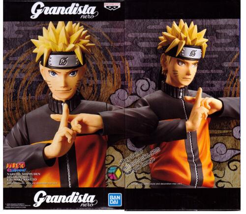 Naruto Shippuden Grandista NERO Uzumaki Naruto Figure by Banpresto