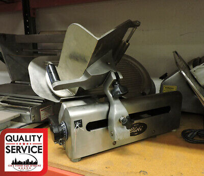 Globe 500l Commercial Used Meat Slicer 115v Single Phase