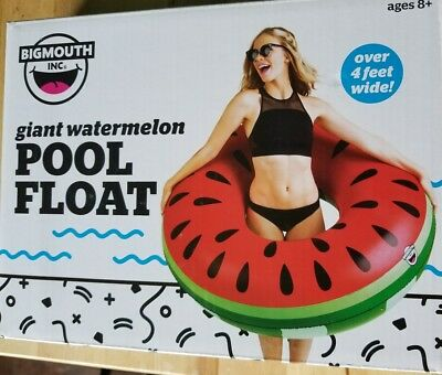 Bigmouth Inc  Giant Watermelon Pool Water Float New