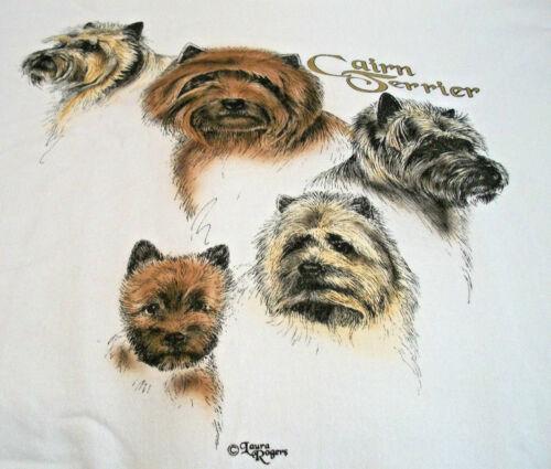 """Cairn Terrier Sweatshirt  """" White """" 2XL ( 50 ~ 52 )"""