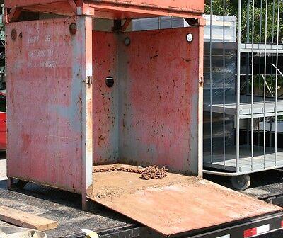 Acetylene / Propane / Oxygen Gas Tank Heavy Duty Storage Cabinet