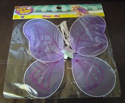 Halloween Fairy Wings for Dogs Size Medium/Large (Fairy Halloween Costumes For Dogs)