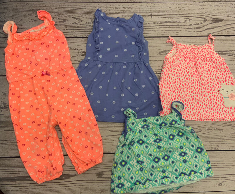 Lot Of Baby Girl Clothes Size 24 Months: Spring/summer