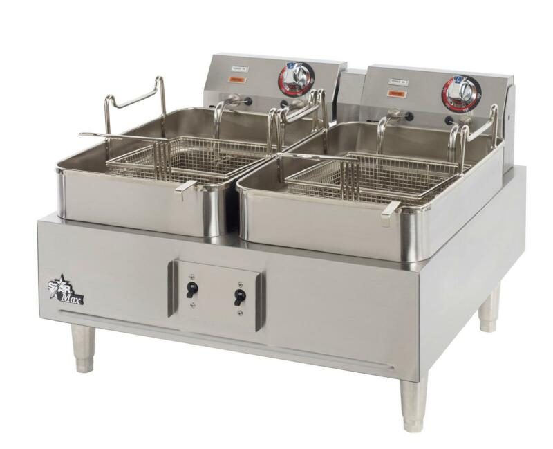 Star 530tf Star-max Counter 30lb Twin Pot High Watt Electric Fryer