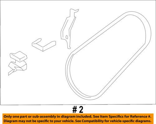 Gates Micro-V AC Serpentine Belt for 2005-2009 GMC Envoy 5.3L V8 Accessory wd