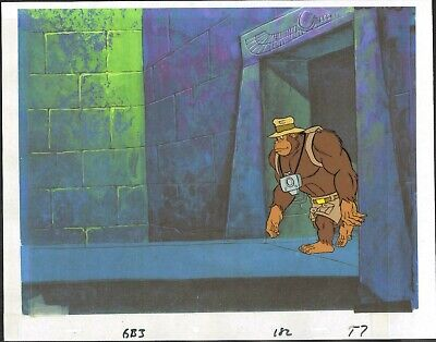 FILMATION'S GHOSTBUSTERS ORIGINAL PRODUCTION ANIMATION CEL