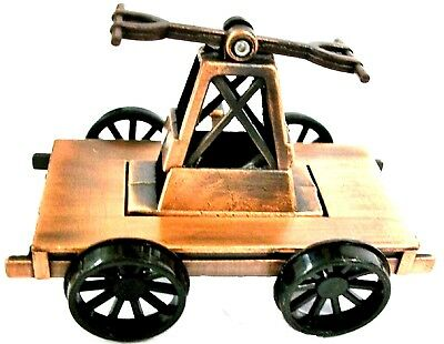 Railroad Hand Cart Die Cast Metal Collectible Pencil