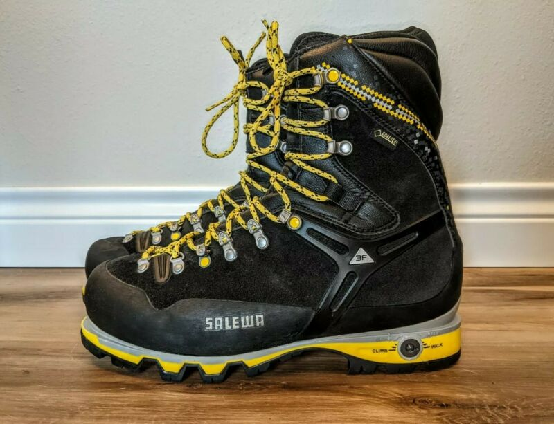 Salewa MS Pro Guide Mountaineering Boots, US 11, UE 44.5, UK 10, 29.0 cm
