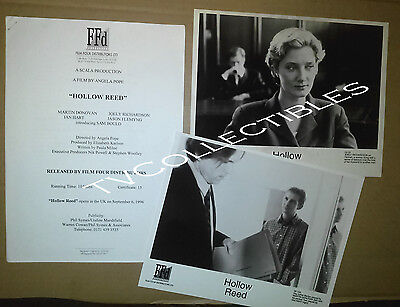 Presskit~ HOLLOW REED ~1996 ~Martin Donovan ~Ian Hart ~Joely Richardson
