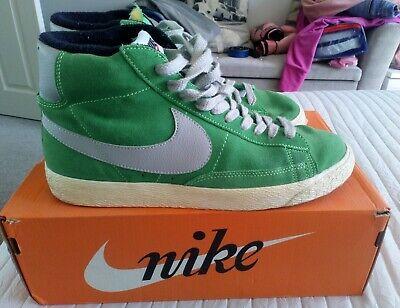 Nike Blazer Green Mid Trainer Size 8