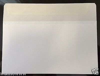 100 X Peel Self-seal White Letter Mailing Envelopes Shipping 3-58 X 6-12