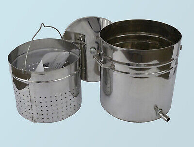 Steam Wax Melter Beeswax Extractor 12 L Stainless Steel Beekeeping Tools