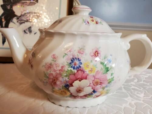 Vintage James Kent Old Foley Teapot Staffordshire England