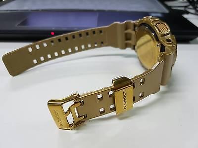 Pimp G-Shock Custom Premium Luxury Hip-Hop Unique Ga-110Gb Metallic Gold-Black for sale  Shipping to Canada