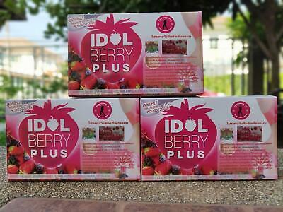 3X Slim Idol Berry Weight Fat Burn Drink Fruit Block Diet Loss Fit Lose Body