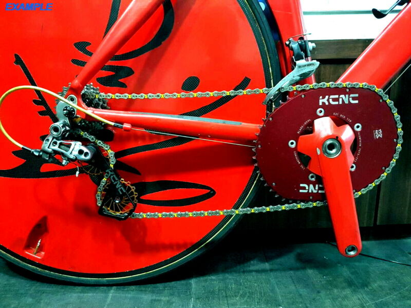KCNC Road Bicycle Bike Oversized Pulley Wheel Cage for Shimano r9100//r8000 Red