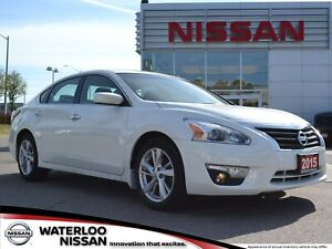 2015 Nissan Altima Sedan 2.5 SV CVT | Backup Camera | Low KMs