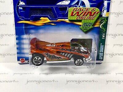 2002 Hot Wheels VHTF Metallic Orange #76 SPEED SHARK