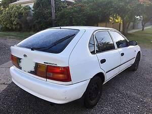 1997 Toyota Corolla CSi Seca White Hatchback Cannon Hill Brisbane South East Preview