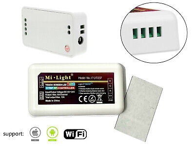 2.4G LED WiFi Wireless Remote 4-Zone 16 Millions RGB LED Controller for sale  Shipping to India