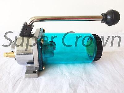 Super Crown Hand Manual Pump 4cc One-shot Hand Oiler Bridgeport Type Lt-4 Cnc