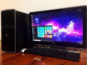 ✩HP Computer FULL HD 1920x1080•PC•E7400•2.80Ghz•Win10+Office2016✩ Parramatta Parramatta Area Preview