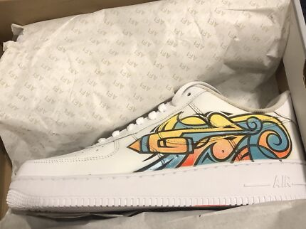 Air Force 1 Blank Canvas Collection Size 10.5  f3b27b3f0