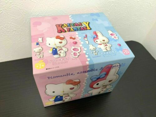 KAITAI FANTASY Figure SANRIO Hello Kitty My Melody Box MegaHouse Pack of 4