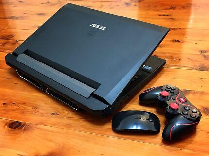 "ℜROG GAMER ®Core™i7✶24.GB RAM•S.S.D•GeForceGTX•USB3.0•Win10•17.3""LEDℜ"