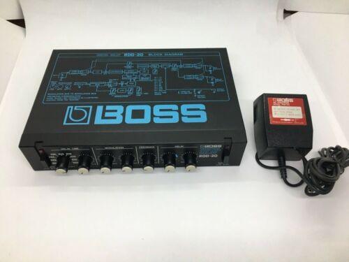 BOSS RDD-20 DIGITAL DELAY W/adapter 100V ✈FedEx✈