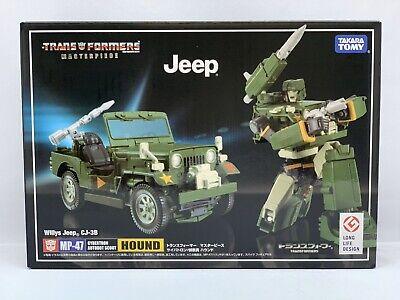 Transformers Masterpiece MP-47 Jeep Hound Takara U.S. seller (100% authentic)