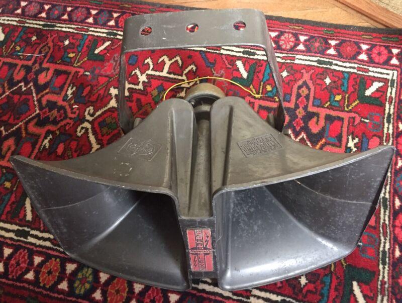Vintage University Cobreflex Horn And Driver