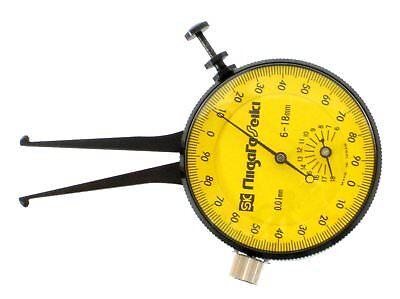 Niigata Seiki Sk Dial Caliper Gauge Inside Diameter 6-18mm Ai-1 Made In Japan