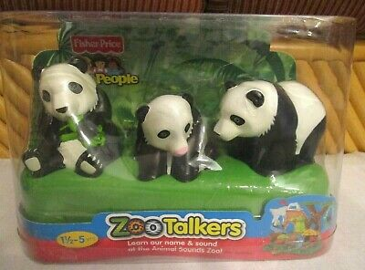Fisher Price Zoo Talkers Dolphin Turtle Camel Hippo Ostrich Panda Kangaroo Chimp