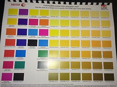Pantone Coated Color Simulation Chartdesign Tool 4 Graphic Designers Pressman