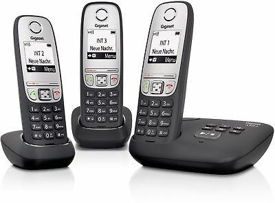 Gigaset A415A Trío Teléfono Inalámbrico/Tres Terminales Contestador Automático