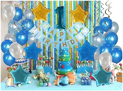1St Birthday Party Decorations Kit Complete One Year Party Decoration  1st Birthday Party Decoration