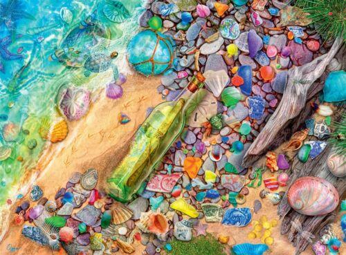 Buffalo Games - Aimee Stewart - Beachcomber's Bounty - 1000 Piece Jigsaw Puzzle