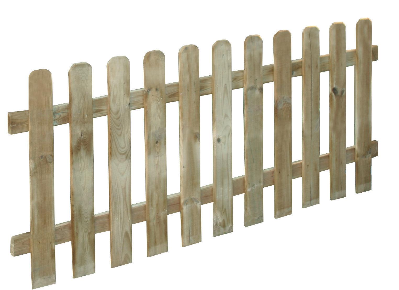 Sconto Arredamento da Giardino eBay.it  Staccionata Recinto Recinzione Steccato Giardino Legno Lasa 180x80
