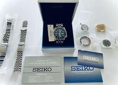 Seiko SKX Diver 200m - SKX009J1, Modified with NH36 movement