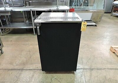Glastender Kc24-nc-bs1r Commercial 24 Keg Cooler One Door Self-contained